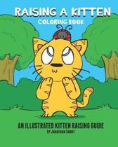 Raising a Kitten Coloring Book