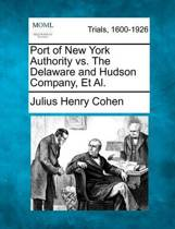 Port of New York Authority vs. the Delaware and Hudson Company, et al.