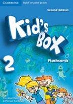 Kid's Box for Spanish Speakers Level 2 Flashcards