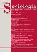 William Isaac Thomas: profilo intellettuale di un classico della storia del pensiero sociologico