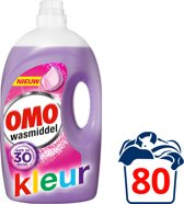 Omo Vloeibaar Wasmiddel Kleur - 80 wasbeurten