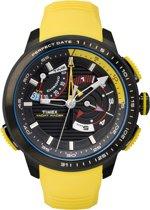 Timex IQ Yacht Racer (TW2P44500) - Polshorloge - Zwart/Geel