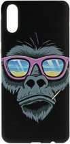 ADEL Siliconen Back Cover Softcase Hoesje voor Samsung Galaxy A50(s)/ A30s - Apen Gorilla