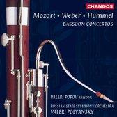 Mozart, Weber, Hummel: Bassoon Concertos / Popov, Polyansky