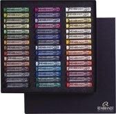 Soft pastel set heel 45 kleuren softpastels pastelkrijt