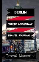 Berlin Write and Draw Travel Journal