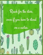 Reach for the Stars, Even If You Have to Stand on a Cactus