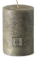 Rustic Candle antique silver 7 x 10
