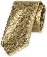 E.L. Cravatte Stropdas - Goud glitter - 100% Polyester