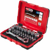 KS Tools Ratelsleutel/doppen/bit set 11 mm 31-delig 918.3050