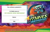 Vacation Bible School (Vbs) 2019 to Mars and Beyond Leader Recognition Certificates (Pkg of 12)