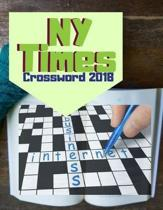 NY Times Crossword 2018: Fun & Easy Crosswords Award, easy crossword puzzles crosswords in easy-to-read, Vocabulary and Memory Children's activ