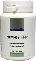 Nutramin Gember 280 mg Capsules 180 st