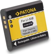 Battery f. OLYMPUS LI50b LI-50b mju1010 mju1020 mju1030