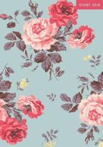 A5 2018 Diary Antique Rose