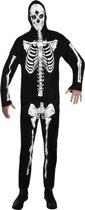 4 stuks: Volwassenenkostuum Skelet dancer - Medium-Large
