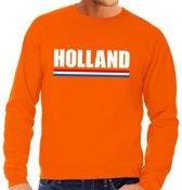 Oranje Holland supporter sweater heren XL