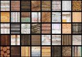 Fotobehang Wood Planks Texture | L - 152.5cm x 104cm | 130g/m2 Vlies