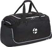 TravelZ Sporttas - Duffel Trainingstas - Large - 60 liter - Freizeit - Zwart/Wit