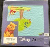 Kussensloop 42 cm x 42 cm Winnie the Pooh - Blauw