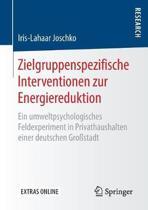 Zielgruppenspezifische Interventionen Zur Energiereduktion