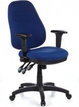 hjh office Zenit Pro - Bureaustoel - Stof - Blauw