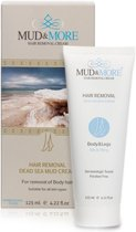 Mud & More Hair Removal Cream Body & Legs - 125 ml - Ontharingscrème