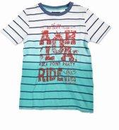 Blue Seven Jongens T-shirt - laguna groen - Maat 122
