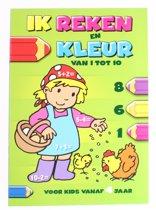 Flash Ik Reken En Kleur: Van 1 Tot 10 Junior Groen