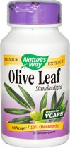 Olijfblad gestandaardiseerd (60 vegetarische capsules) - Nature's Way