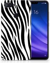 Xiaomi Mi 8 Lite TPU Hoesje Design Zebra