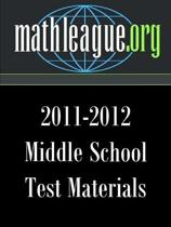 Middle School Test Materials 2011-2012