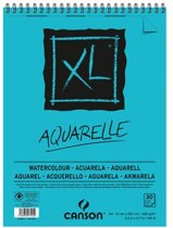 Canson schetsblok XL aquarelle 300g/m² formaat A4 30 vel