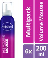 Andrélon Big Volume Mousse - 6 x 200 ml