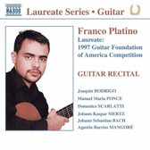 Platino Franco: Guitar Recital