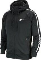Nike Nsw He Hoodie FZ Tribute Heren Sportvest - Black/White