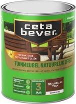 Cetabever Tuinmeubelbeits - Natuurlijk Effect - Teak - 750 ml
