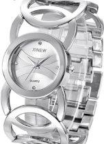 Charme Bijoux® Luxe horloge- Metaal- 3 cm