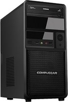 COMPUGEAR Deluxe DC8700-8SH-G1050 - Core i7 - 8GB RAM - 120GB SSD - 1TB HDD - GTX 1050 - Desktop PC