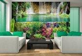 Jungle Waterfall Photo Wallcovering