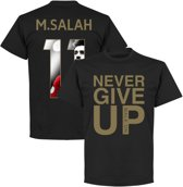 Never Give Up Liverpool M. Salah 11 Gallery T-Shirt - M