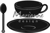 Marianne D Tea cup with spoon CR1238