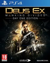 Deus Ex: Mankind Divided - Day One Edition - PS4 (Import)