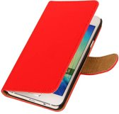 Wicked Narwal | bookstyle / book case/ wallet case Hoes voor Samsung Galaxy Prime G530F Rood