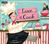 Love to Cook LANG Kalender 2020