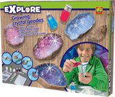 SES Explore kristallen geodes kweken