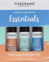 Tisserand Everyday wellbeing essentials kit 3x10ml