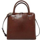Claudio Ferrici Classico 18025 Handbag cuoio