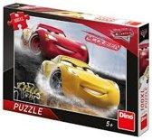 Cars puzzel met 100 xl stukjes.