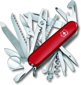 Victorinox Swiss Army Champs - Multitool -33 Functies - Rood